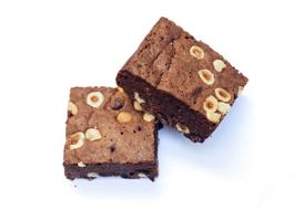 Hazelnoot brownie